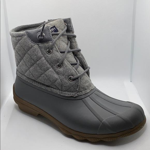 Sperry Syren Gulf Wool Quilt Duck Boots